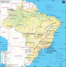 Latin America Map Labeled by Brazil Map Map Of Brazil