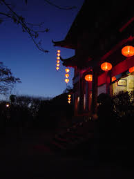 free stock photo of night scene of a traditional chinese house