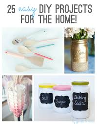 Diy Home Projects by Sparkle U0026 Mine 25 Easy Diy Projects For The Home