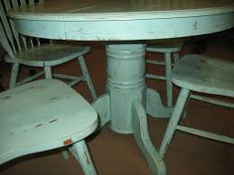 distressed dining room table nice design inspirations also round