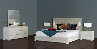 Modrest Ethan Italian Modern Grey Bedroom Set By VIG Furniture - Bedroom furniture brooklyn ny