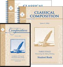 writing a composition paper classical composition i fable set memoria press classical composition i fable set