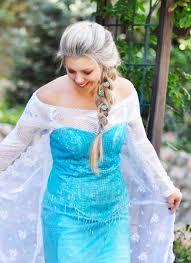 Frozen Halloween Costumes Adults Diy Frozen Elsa Snow Queen Costume Love Maegan