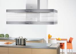 Stainless Steel Kitchen Furniture by Kitchen Round Stainless Steel Island Kitchen Hood With Brown