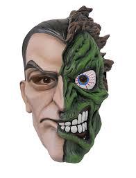halloween costume mask deluxe two face batman mask fancy dress batman super villian