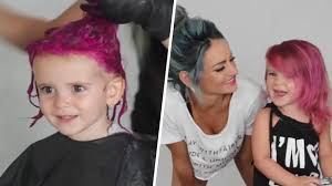 Hair Color To Look Younger Is It Safe For Kids To Dye Their Hair With Wild Colors Today Com