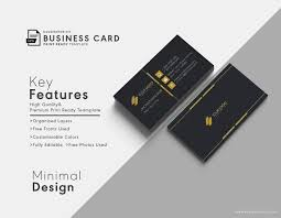Business Card Eps Template 13 Best Business Card Templates Free Vector U0026 Psd Print Ready