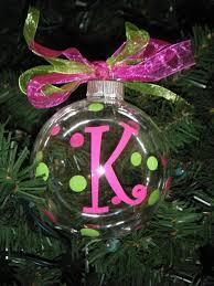 personalized christmas ornaments 8 00 via etsy or make them