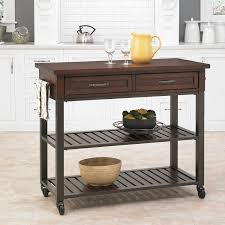 amazon com home styles cabin creek kitchen cart kitchen