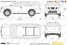 nissan pathfinder a vendre the blueprints com vector drawing nissan pathfinder