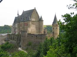 Small Castle by Where Are You Going Traveling By Chairlift To A Luxembourg Castle