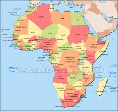 Africa Map Game by Africa Political Map