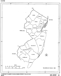 New York County Map by New Jersey Maps New Jersey Digital Map Library Table Of Contents