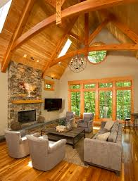 Images Of Home Interiors by Timber Frame Timber Frame Home Interiors New Energy Works Home