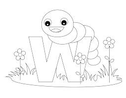 the letter w printable worksheets animal alphabet letter w
