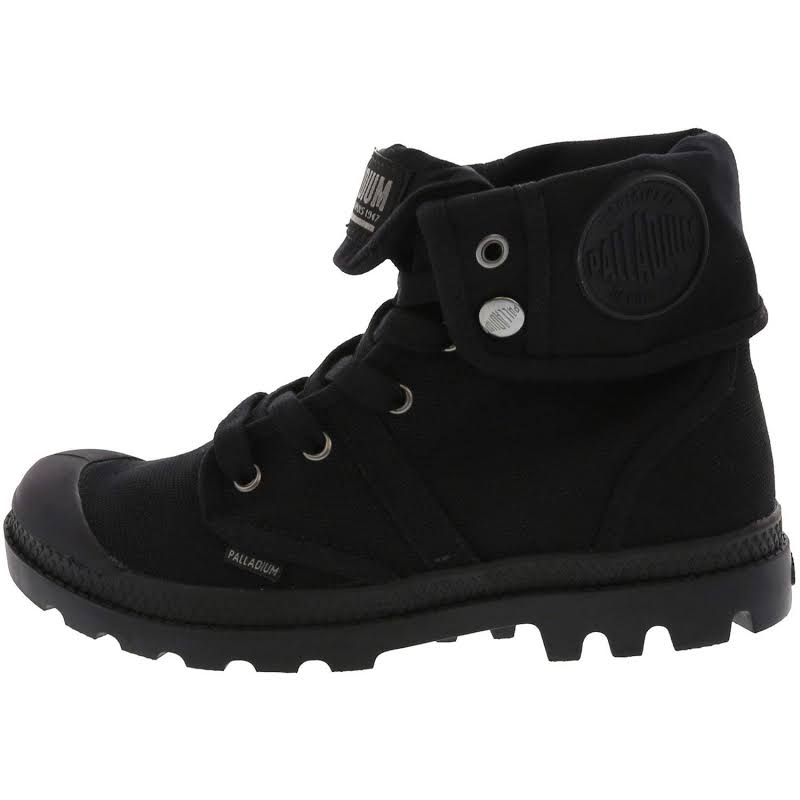 Palladium Pallabrouse Baggy Fashion Sneaker 7.5M Black / Black