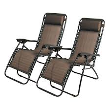 Replacement Parts For Zero Gravity Chairs Zero Gravity Chairs Case Of 2 Black Lounge Patio Chairs Outdoor
