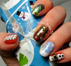 kate u0027s nailing it all the christmas nail arts