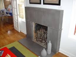 polished concrete fireplace a little mod but i kinda love it