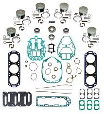 mercury outboard complete powerhead rebuild kits mastertech