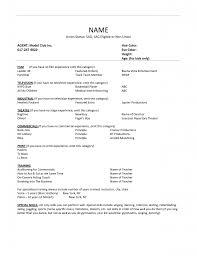 Ms Word Sample Resume by Child Actor Sample Resume Haadyaooverbayresort Com