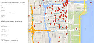Chicago Line Map by Browse All Of Chicago U0027s Landmarks In One Interactive Map Curbed