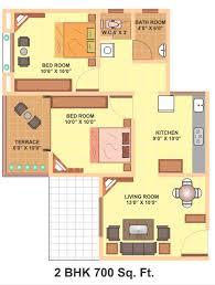500 Sq Ft Apartment Floor Plan 500 Sq Ft House Plans 2 Bedroom Indian Nrtradiant Com