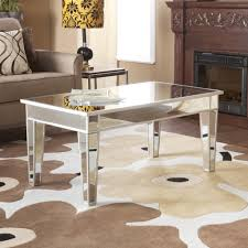 Simple Coffee Table by Simple Modern Rectangle Mirrored Coffee Table With Wooden Frame
