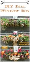 Fall Landscaping Ideas by Best 20 Fall Flower Boxes Ideas On Pinterest Fall Window Boxes
