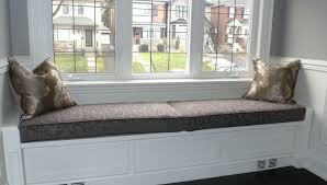 pillows for bench seating interiorwindow bench pillows window seat