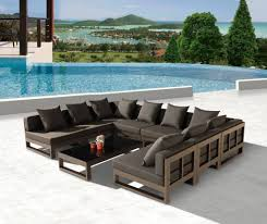 Modern Outdoor Sofa by Amber Modern Outdoor Shape Large Sectional Sofa For Gallery With U