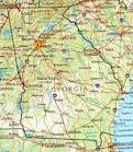 GA Georgia map, USA – Travel, Where, how and when Georgia ...