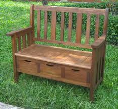 how to build an outdoor storage bench project diy pinterest
