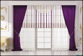 decorating appealing purple valance for unique interior home