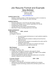 Resume That Gets The Job by 86 Good Job Resume How To Write A Good Job Resume Great