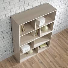 4 Shelf Bookcase White by Amazon Com Sauder Square 1 Organizer 4 Shelves Kitchen U0026 Dining