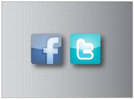 fb twitter icons