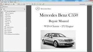 mercedes benz c350 w204 manual de taller workshop repair