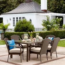 Martha Stewart 7 Piece Patio Dining Set - grand resort summerfield 7 piece patio dining set http www