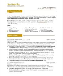 Online Marketing Manager Resume by Social Media Manager Resume Sample 7 Social Samples 2017 Uxhandy Com