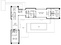 One Level Home Plans L Shaped One Story House Plans Chuckturner Us Chuckturner Us