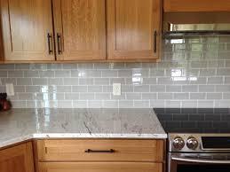 kitchen stunning grey backsplash for elegant kitchen idea