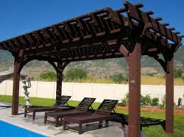 Timber Frame Pergola by 20 Cool Pool Side Shade Pergolas Pavilions U0026 Arbors Western
