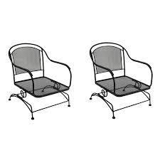 Mesh Patio Chair Wrought Iron Patio Chairs