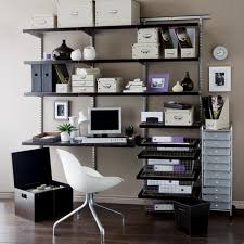 Decorate A Home Office Home Office Decor And Fresh Interior With Rectangle Plywood