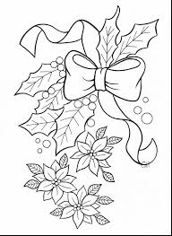 fantastic anime animal coloring pages with poinsettia