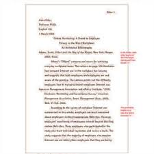 research paper with footnotes
