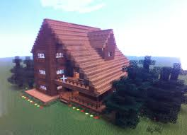 How To Build A Cottage House by This House Is A Cabin Or Big Cottage My Minecraft Pictures