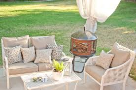White Wicker Outdoor Patio Furniture by Exterior Design Exciting Overstock Patio Furniture With Oak Wood