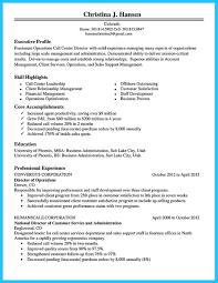 Customer Service Experience Resume Call Center Experience Resume Resume For Your Job Application
